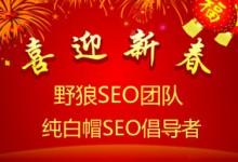 野狼SEO团队发布2016年春节放假期间网站SEO方案,新鲜出炉,不看后悔!