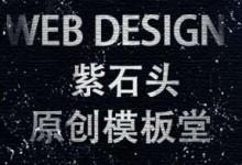 紫石头原创模板堂,原创网站模板便宜卖,售后有保障
